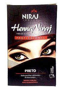 Henna Niraj para Sobrancelha