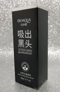 Mascara Negra Anti Acne Bioaqua Removedora De Cravos