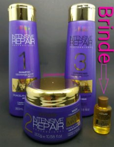 Triskle Kit Violet Matizer Tratamento Intensive Repair