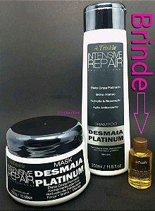 Triskle Desmaia Platinum Kit Intensificador De Cinza