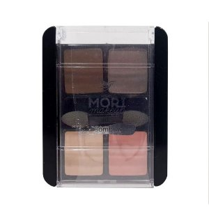 Quarteto de Sombra 07 - Mori Makeup
