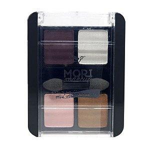 Quarteto de Sombra 10 - Mori Makeup