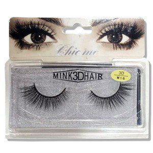 Cílios Postiços Mink 3d Hair Chic Me