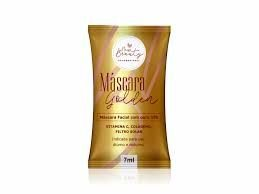 Máscara Facial Ouro 18k - New Beauty