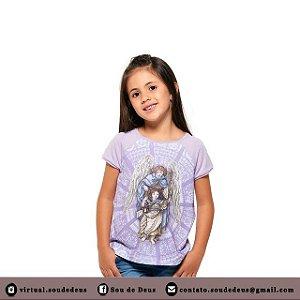 Camisa Infantil Anjo da Guarda