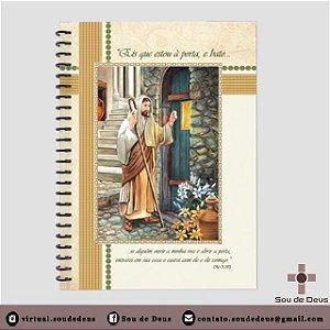 Caderno Jesus Batendo a Porta