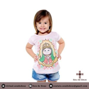 Blusa Nossa Senhora de Guadalupe - Infantil