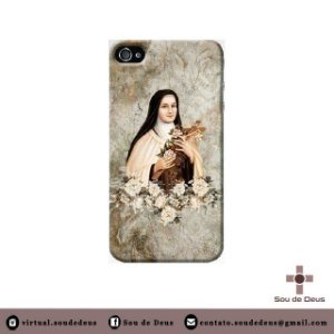 Capa de celular - Santa Teresinha