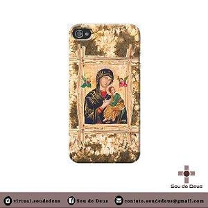 Capa de celular - Nossa Senhora do Perpétuo Socorro