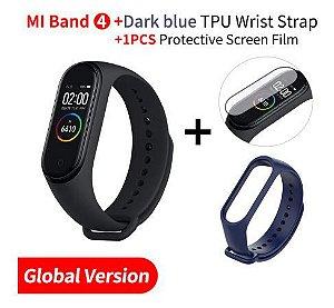 Relógio Smartwatch Xiaomi Mi Band 4 Preto Original + Pulseira e Pelicula