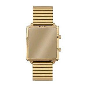 Relógio Euro Feminino Fashion Fit Reflexos - Dourado - EUJHS31BAG/4D
