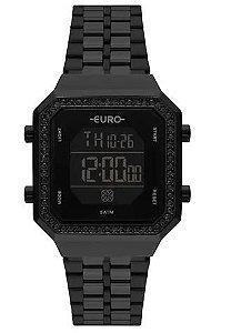 Relógio Euro Feminino Fashion Fit - Preto - EUBJK032AC/4P
