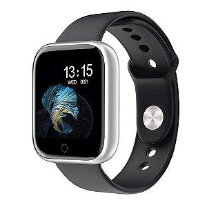 Relógio Eletrônico Smartwatch CF T80 - Android e iOS