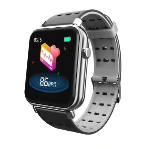 Relógio Eletrônico Smartwatch CF Style - Android e iOS - Preto e Branco