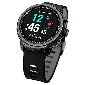 Relógio Smartwatch Mormaii Evolution Masculino Preto - MOL5AA/8P