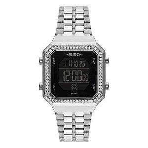 Relógio Euro Feminino Fashion Fit - Prata - EUBJK032AD/3P