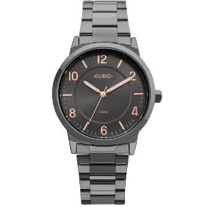 Relógio Euro Feminino Bicolor Trendy - Preto - EU2036YLZ/4P