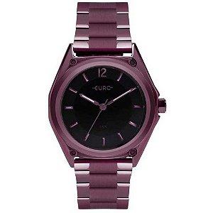 Relógio Euro Feminino Color Mix Geometric - Roxo - EU2035YPM/4P