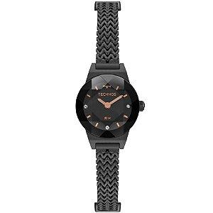 Relógio Technos Feminino Elegance Mini - Preto - 5Y20IT/4P