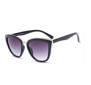 Óculos Feminino Modelo Gatinho - Preto
