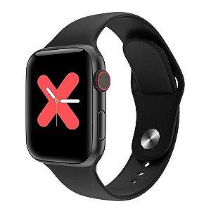 Relógio Eletrônico Smartwatch W68 - Preto - 44mm - Android e iOS