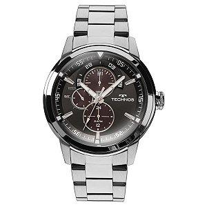 Relógio Technos Classic Grandtech - Prata - 6P57AD/1P