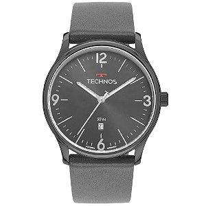Relógio Technos Steel - Grafite - 2115MUO/2C