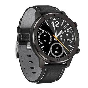 Relógio Eletrônico Smartwatch DT78 - Preto com Cinza - IOS e Android