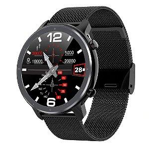 Relógio Eletrônico Smartwatch L11 - Preto - IOS e Android