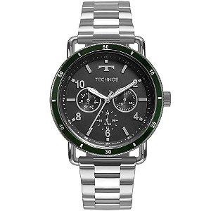 Relógio Masculino Technos Militar - Prata - 6P29AKU/1V