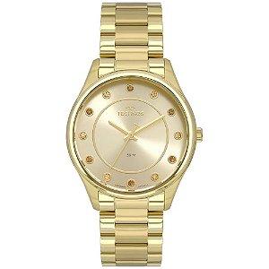 Relógio Technos Feminino Trend - Dourado - 2036MLI/4X