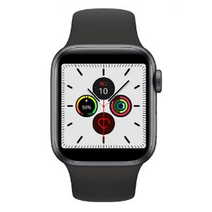 Relógio Smartwatch IWO 12 Pro Série 5 - Preto - 44mm