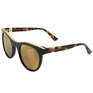 Óculos Euro Feminino Gold Lux - Preto - E0005A3110/8P