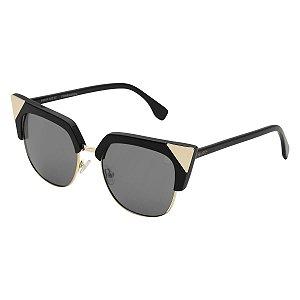 Óculos Euro Shine Cat - Preto - E0029A0203/8C
