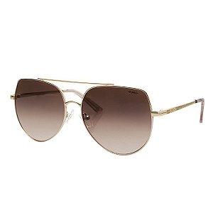 Óculos Euro Feminino Aviador Hits - Rosé - E0065E1024/4M