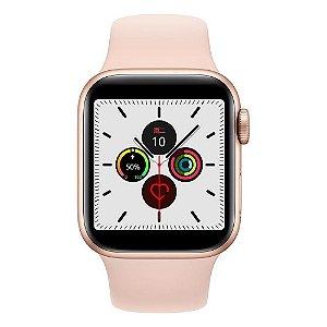 Relógio Smartwatch IWO 12 Pro Série 5 - Rosa - 40mm