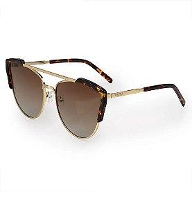Óculos Euro Feminino Acetato Hit - Dourado - E0002E1134/4D