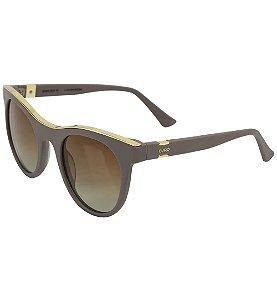 Óculos Euro Feminino Gold Lux - Nude - E0005B2048/8M