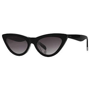 Óculos Euro Feminino Retrô Cat - Preto - E0051A0233/8C