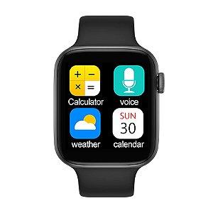 Relógio Smartwatch IWO T5 PRO - Preto - iOS / Android - 44mm