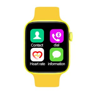 Relógio Smartwatch IWO T5 PRO - Amarelo - iOS / Android - 44mm