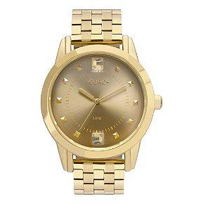 Relógio Euro Spike Illusion Feminino - Dourado - EU2035YRT/4D