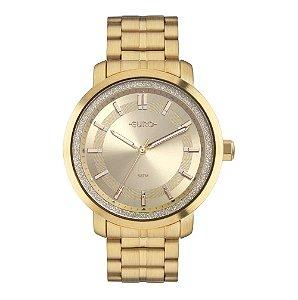 Relógio Euro Casual Shine Feminino - Dourado - EU2036YOY/4D