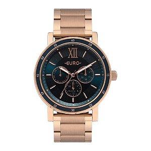 Relógio Euro Feminino Multiglow - Rosé - EU6P29AHH/4A