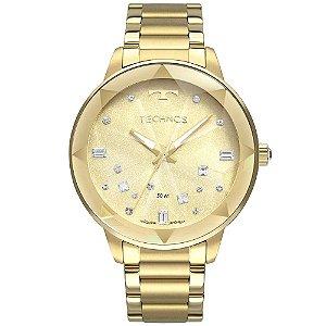 Relógio Technos Feminino Crystal - Dourado - 2039CE/4X