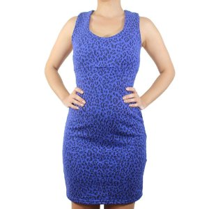 Vestido Plush Jacquard Animal Print - NEFESHION