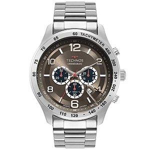 Relógio Technos Masculino Skymaster - Prata - JS25CG/1C
