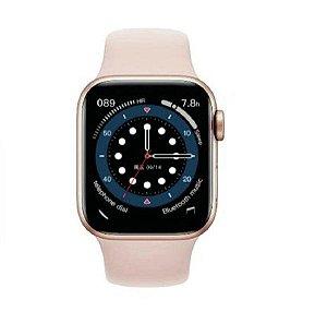 Relógio Smartwatch IWO 13 Tela Infinita - Rosa - 44mm