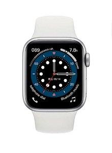 Relógio Smartwatch IWO 13 Tela Infinita - Branco - 44mm