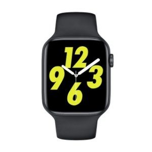 Relógio Smartwatch IWO W26 PRO - Preto - Tela Infinita - IOS / Android - 44mm